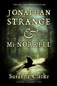 Jonathan Strange & Mr Norrell. NOT my cover, unfortunately. It's lovely.